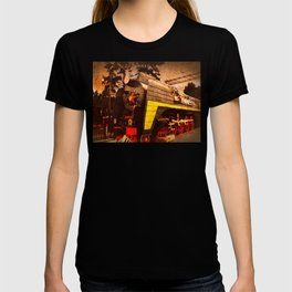 Steam Locomotive at the Kiev Railway Station                              T-shirt