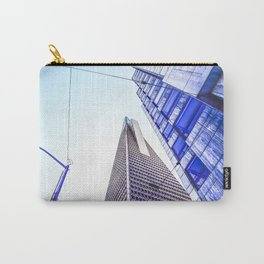 pyramid building and modern building at San Francisco, USA Carry-All Pouch