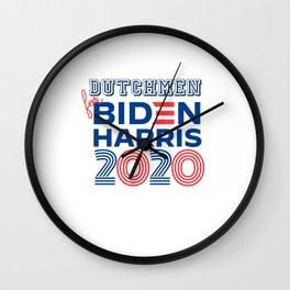 DUTCHMEN for Biden Harris 2020 Wall Clock