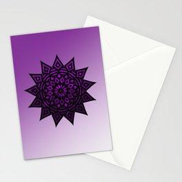 Purple Star | Tam Tam | Mandhala Stationery Cards