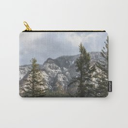 Mountains Through The Forest - Nature Photography Carry-All Pouch