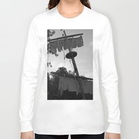 pirate ship Long Sleeve T-shirts featuring Pirate Ship by Yellow Tie