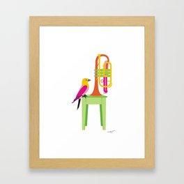 Cornet Framed Art Print
