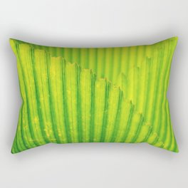 Palm tree leaves texture Rectangular Pillow