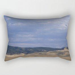 Black & Tan Rectangular Pillow