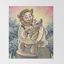Bear Lumps Throw Blanket