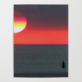 Mercury at Sunset Poster