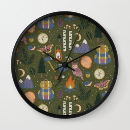 Into the Woods Wall Clock