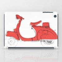 vespa iPad Cases featuring Vespa by Matthew McLemore