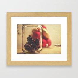 Festive Knickknacks Framed Art Print