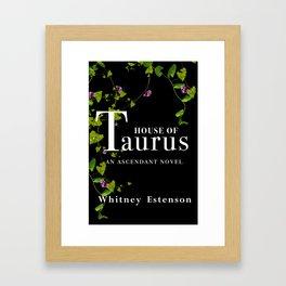 House of Taurus Cover Framed Art Print
