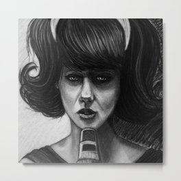 Singer of a Sad Song Metal Print