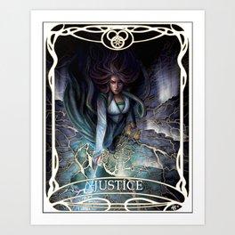 Justice: Egwene the Amyrlin Art Print