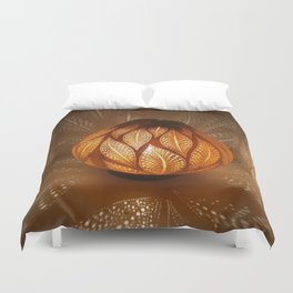 HAPPY LEAFS Duvet Cover