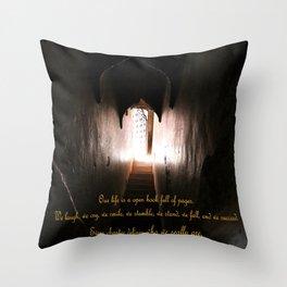 Qur Life Throw Pillow