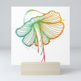 Mushroom Vibrations Mini Art Print