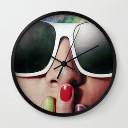 Carnaval girl Wall Clock