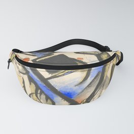 "Franz Marc ""Two Wolves"" Fanny Pack"