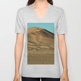 Sand Dunes Sahara Desert Landscape 09 Unisex V-Neck