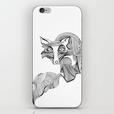Reynard Fox iPhone & iPod Skin