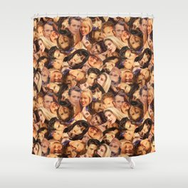 High School, 90210 Shower Curtain