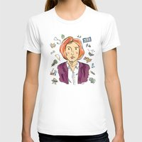 scully T-shirts featuring Dana Scully by sarah sawtelle