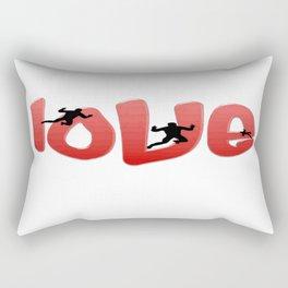 What Makes Men Fall in Love Rectangular Pillow