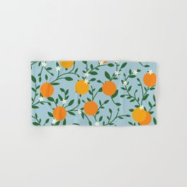 Valencia Oranges Hand & Bath Towel