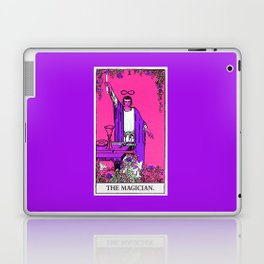1. The Magician- Neon Dreams Tarot Laptop & iPad Skin