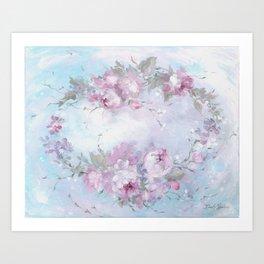 Crown Rose Art Print