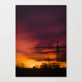City in the night Canvas Print