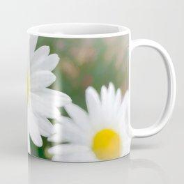 Daisies flowers in painting style 1 Coffee Mug
