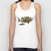 shark Tank Tops featuring shark by Кaterina Кalinich