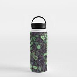 Fractal Gems 04 - Emerald Dreams Water Bottle