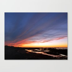 Night brings the Clouds Canvas Print