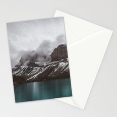 Landscape Maligne Lake Mountain View Photography | Alberta | Canada Stationery Cards