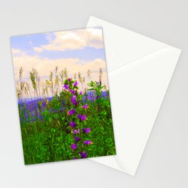 Delphinium Staphisagria Stationery Cards