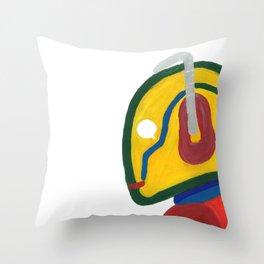 DOCTOR WHO, Rainbow Cyberman Throw Pillow