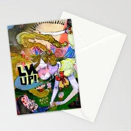 lvl up Stationery Cards