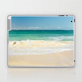 beach blue Laptop & iPad Skin