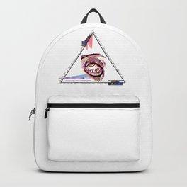 Seeing Eye, tired Backpack