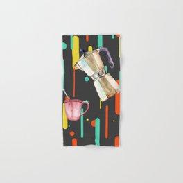 Coffee Pop Art Collage Good Morning Hand & Bath Towel