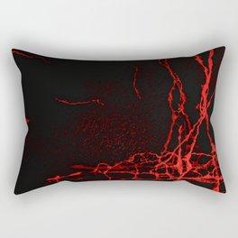 Horror -Dark Red- Rectangular Pillow
