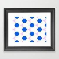 Van Pelt Pattern Framed Art Print