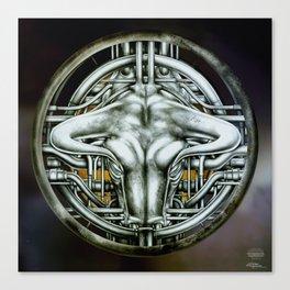 """Astrological Mechanism - Taurus"" Canvas Print"