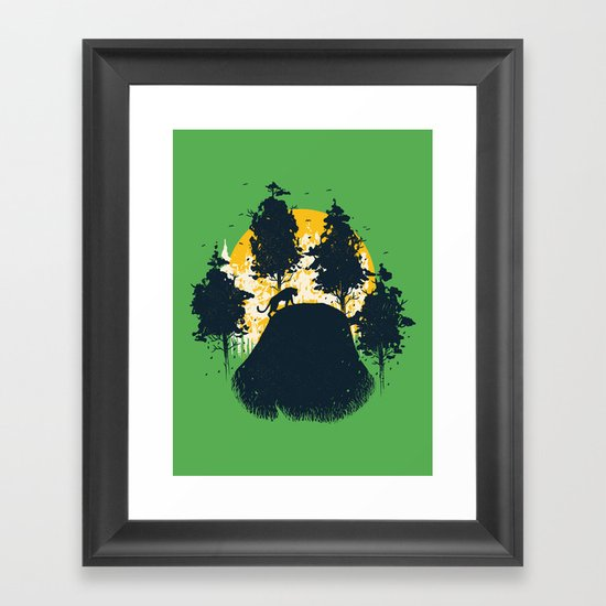 Wildlife Habitat Framed Art Print