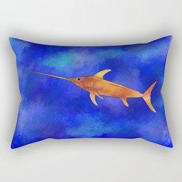Kessonius V1 - amazing swordfish Rectangular Pillow