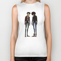 cargline Biker Tanks featuring punk zayn and harry by cargline