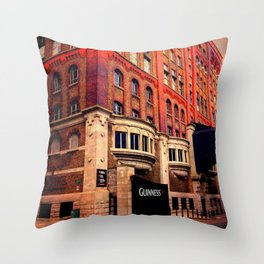Guinness Storehouse Throw Pillow
