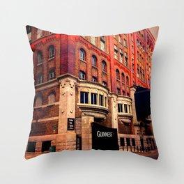 Guinness Storehouse Throw Pillow